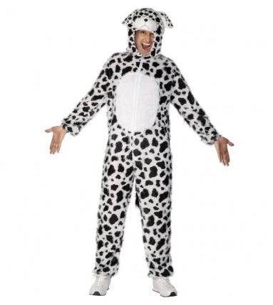 101 Dalmatiner Kostüm für Erwachsene und Kinder