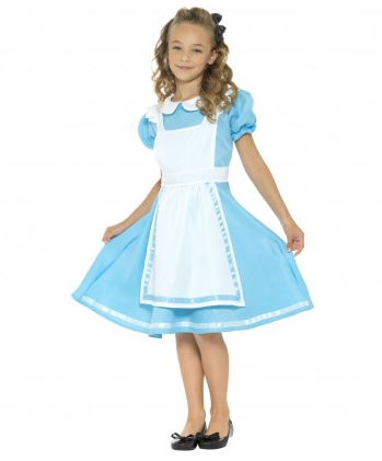 Alice im Wunderland Kostüm Kinder