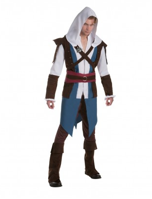 Assassins Creed Kostüm Damen und Herren