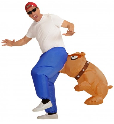 Aufblasbares Kostüm Hund