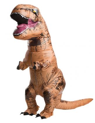 Aufblasbares Kostüm T-Rex