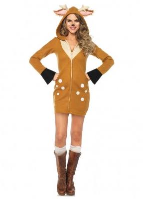 Bambi Rentier Kostüm Damen