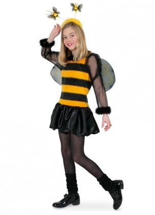 Biene Maja Kostum Fur Kinder Und Erwachsene Damen Nerdydress De