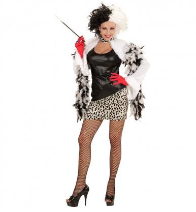 101 Dalmatiner Cruella De Vil Kostume Fur Damen Herren Kinder