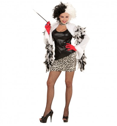 Cruella de Vil Kostüm für Damen