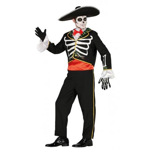Dia de los Muertos Tag der Toten Kostüm Herren