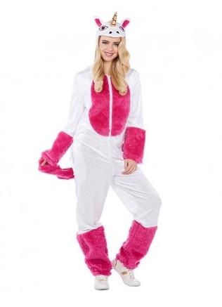 Einhorn Onesie Jumpsuit Schlafanzug Pyjama