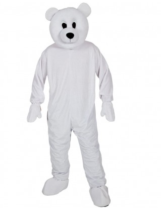 Eisbär Maskottchen Kostüm