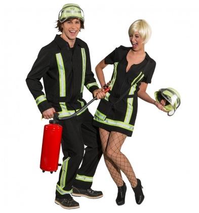 Feuerwehr Kostüm für Damen und Herren