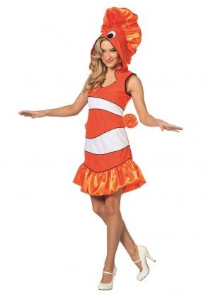 Fisch Kostüm Damen