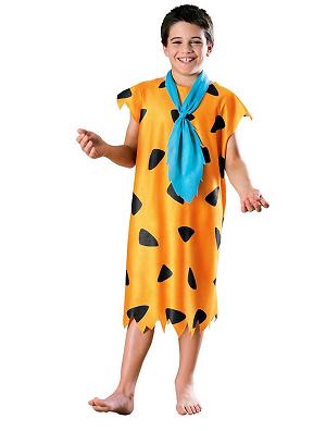 Fred Feuerstein Kostüm Kinder