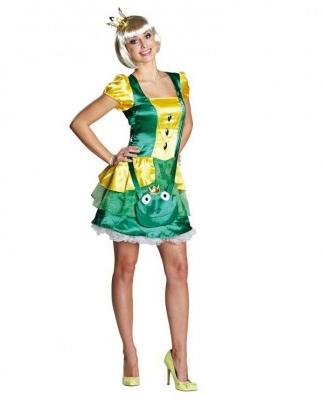 Froschkönig Kostüm Damen