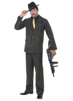 Gangster Mafia Kostum Fur Mafiosi Damen Herren Kinder