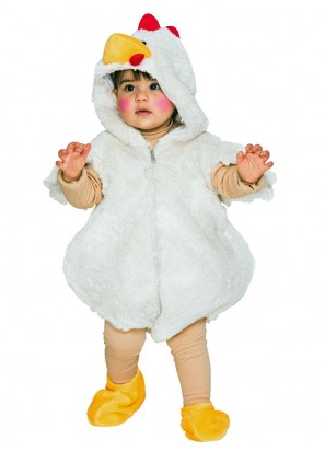 Hühnerkostüm Kinder