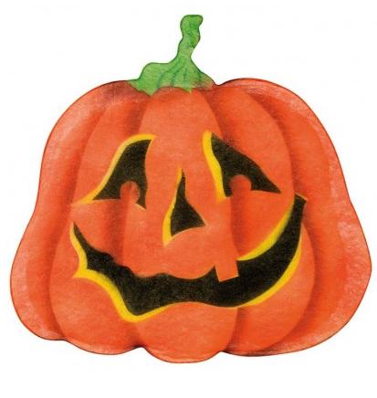 Halloween Deko - Kürbis