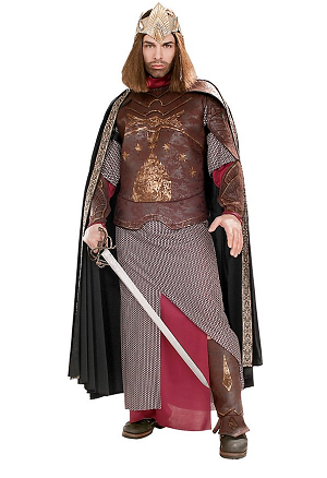 Herr der Ringe Kostüm Herren Aragorn