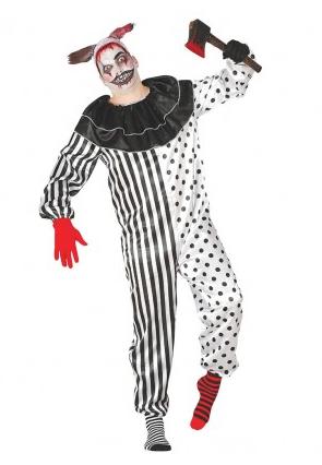 Horrorclown Kostüm Damen Herren Kinder