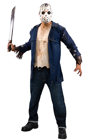 Jason Voorhees Kostüm Freitag der 13