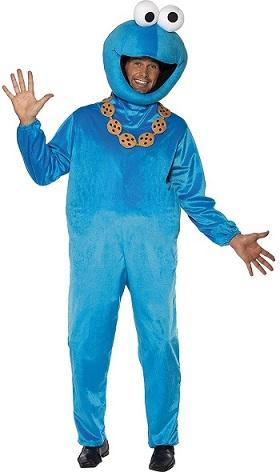 Krümelmonster Kostüm Herren