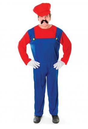 Mario und Luigi Kostüm Herren