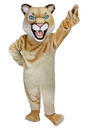 Maskottchen Kostüm Puma