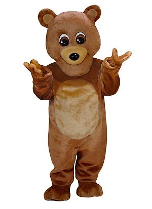 Maskottchen Kostüm Teddy