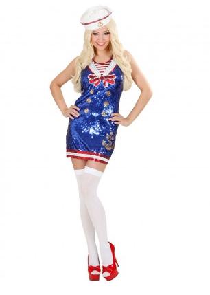 Matrosin Kostüm - Matrose Kostüm Damen