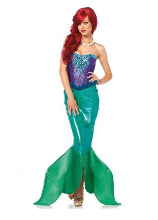Meerjungfrau Kostüm Damen