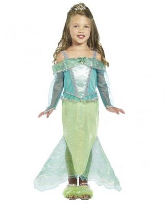 Meerjungfrau Kostüm Kinder