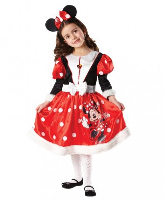 Mickey Minnie Mouse Kostüm Kinder