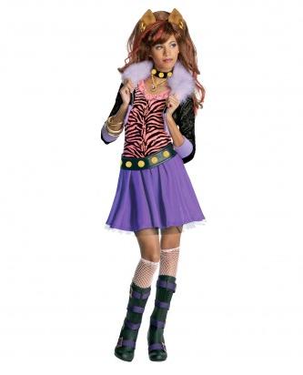 Monster High Kostüm für Kinder - Clawdeen