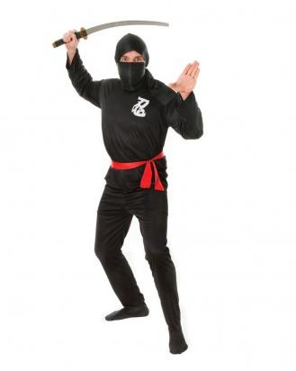 Ninjakostüm Herren