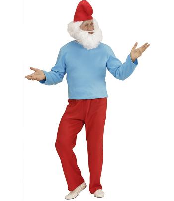 Papa Schlumpf Kostüm