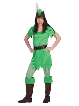 Peter Pan Kostüm Damen