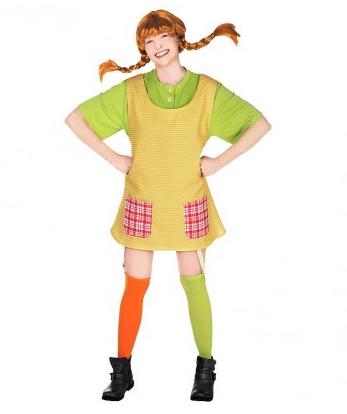 Pippi Langstrumpf Kostüm Damen