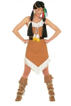 Pocahontas Kostüm Damen