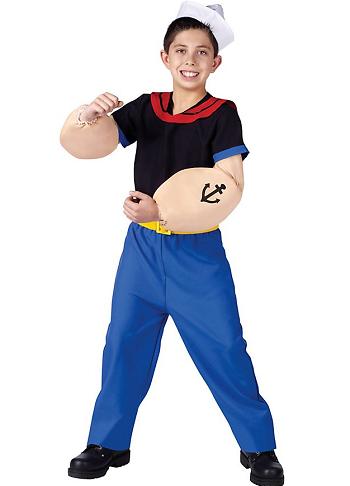 Popeye Kostüm für Erwachsene und Kinder - nerdydress.de  Popeye Kostüm ...