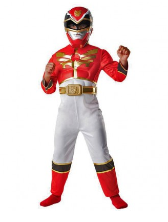 Power Ranger Kostüm Kinder