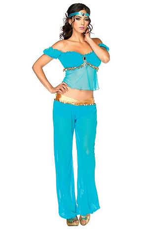 Prinzessin Jasmin Kostüm Damen