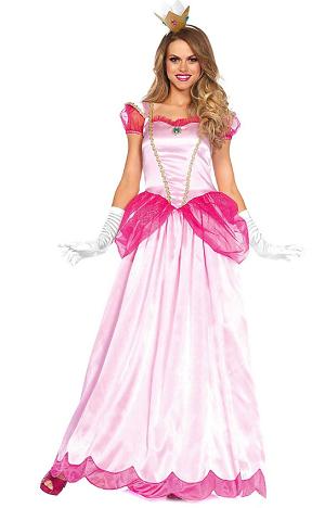Prinzessin Peach Kostüm Damen