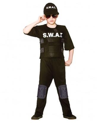 SWAT Kostüm Kinder
