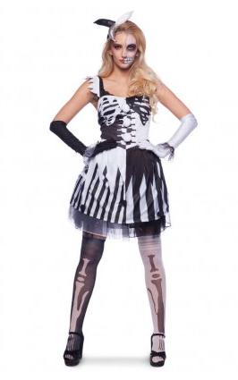 Skelett Kostüm Damen