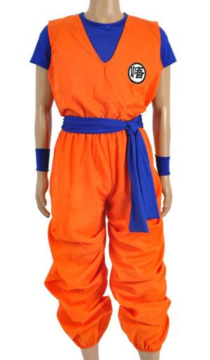 Son Goku Kostum Dragonball Fur Herren Und Kinder Nerdydress De