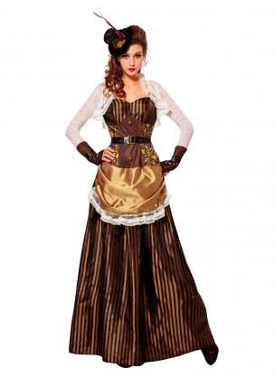 Steampunk Kleid Damen