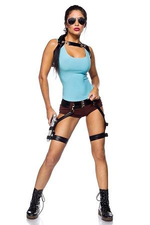 Lara Croft Kostüm Tomb Raider Kostüm Für Damen Nerdydressde