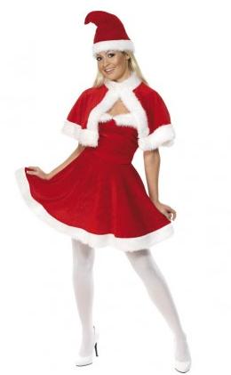 Weihnachtsfrau Kostüm Damen