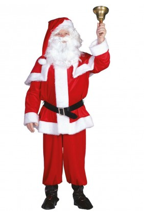 Weihnachtsmann Kostüm (Nikolaus)