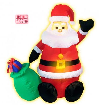 Weihnachtsmann inflatable