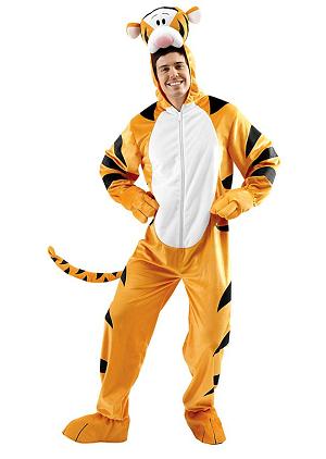 Winnie Pooh und Tigger Kostüme Erwachsene
