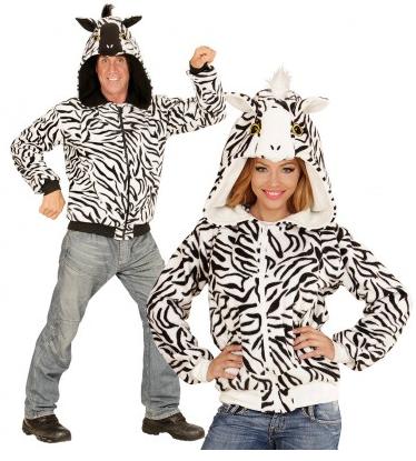 Zebra Kostüm Damen und Herren
